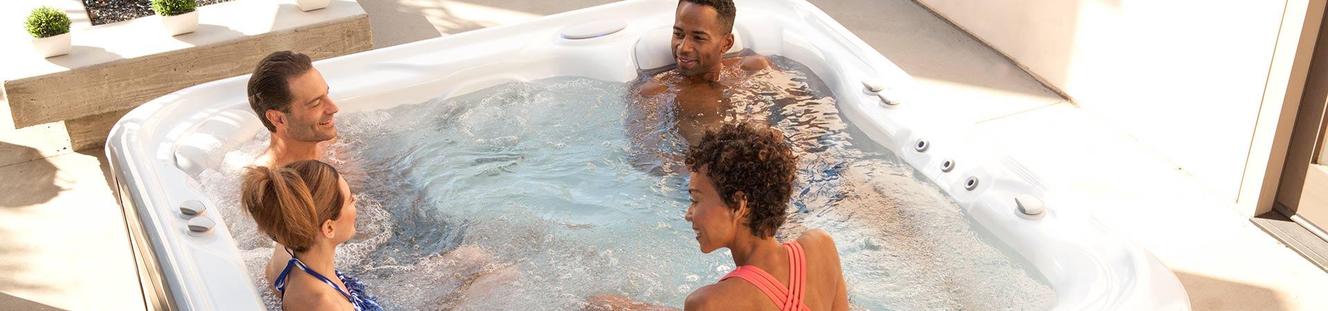 Salt Water Hot Tubs Dealer Des Moines, Participates in Stress Awareness Month