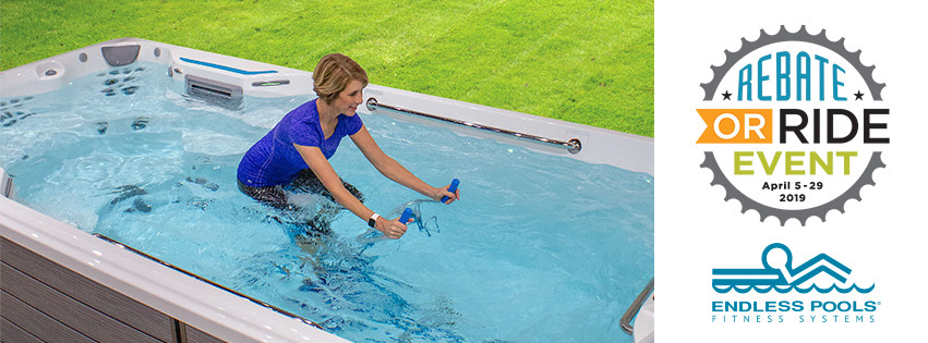 Endless Pool Rebate or Ride Event