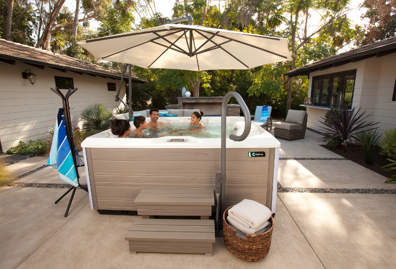 Backyard Staycation Ideas Hot Tubs Carroll Swim Spas Des Moines