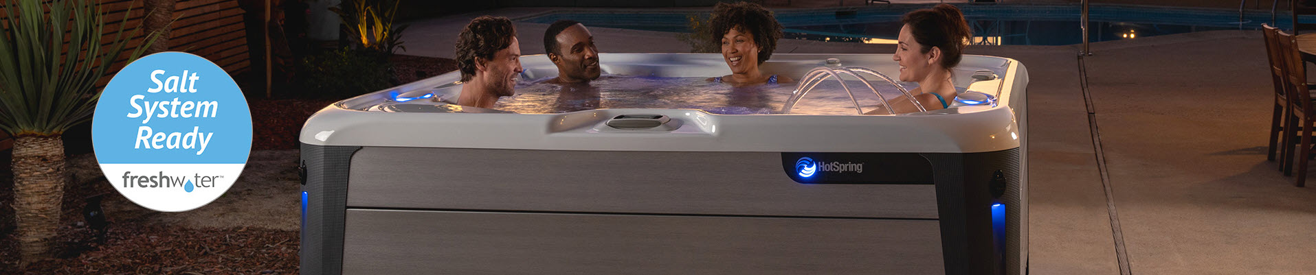 3 Added Benefits from Using a Salt Water Spa, Hot Tubs MN