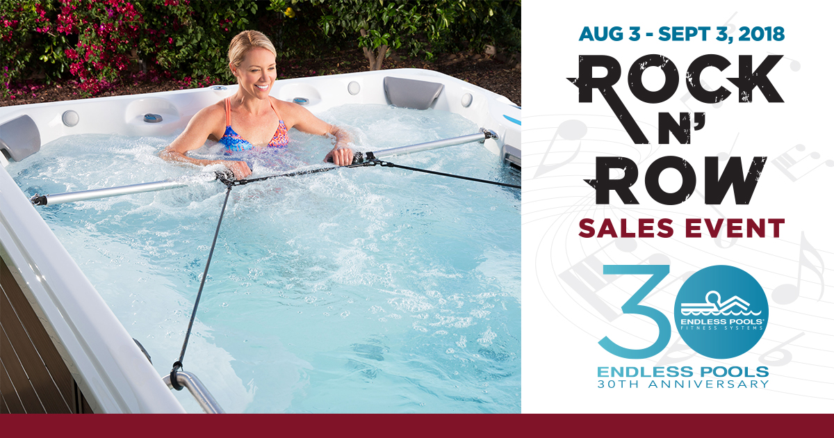 Endless Pools Rock N' Row Sales Event