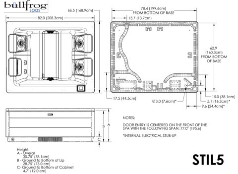 bullfrog spas pre-delivery instructions - hot tub central  hot tub central