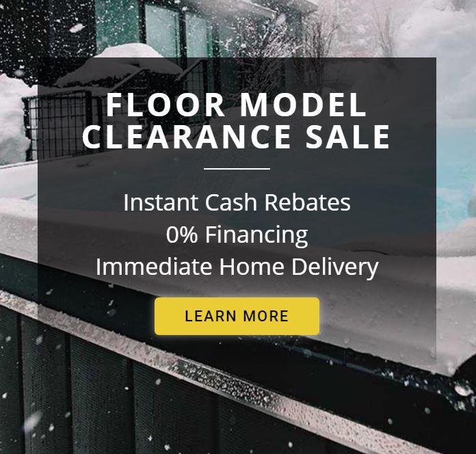 Floor Model Clearance Sale