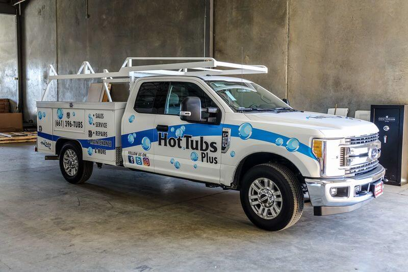 White Glove Delivery by Hot Tubs Plus in Bakersfield, CA