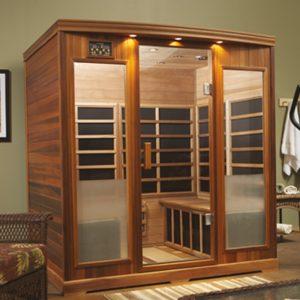 Luxury Home Sauna in Santa Clara, CA