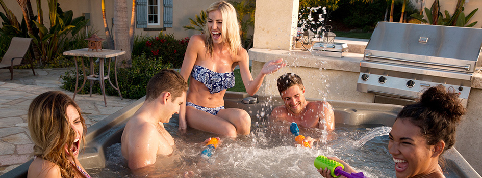 The Hottest Spot to Watch The Big Game This Season, your sporty hot tub!