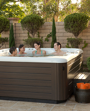 HOT TUB TECHNOLOGY Family Image