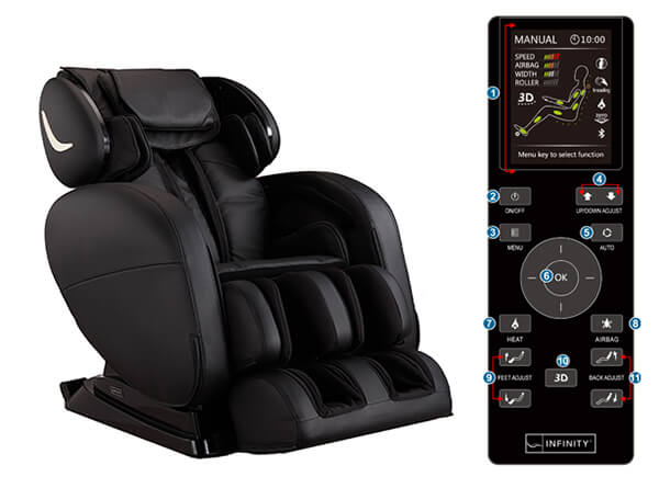 X3 Massage Chair from International Hot Tub Co.