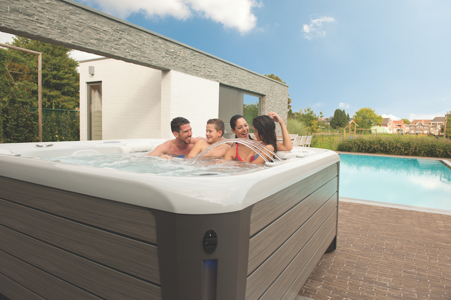 Hot Tubs and Family Health and Fitness Month