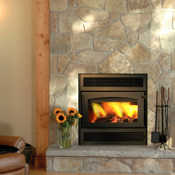 Kozy Heat Wood Fireplaces at International Hot Tub Co.