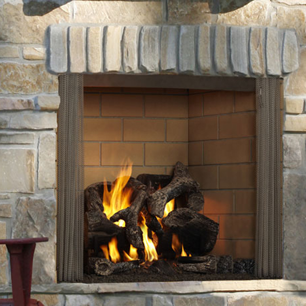 Majestic Outdoor Fireplaces at International Hot Tub Co.