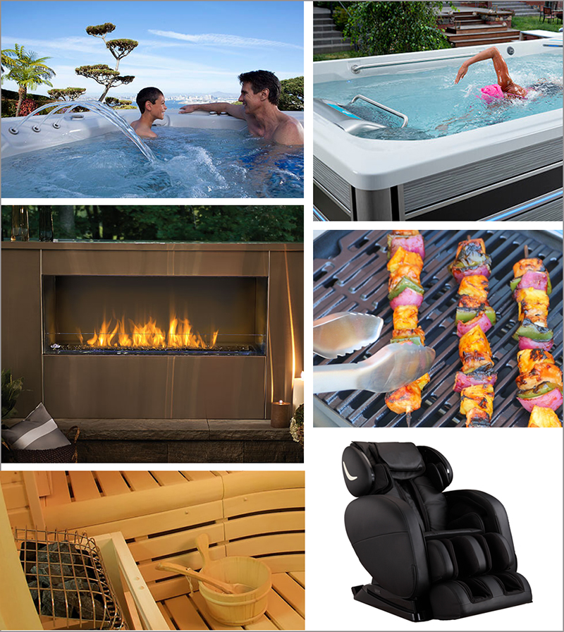 Get a brochure from International Hot Tub Co.
