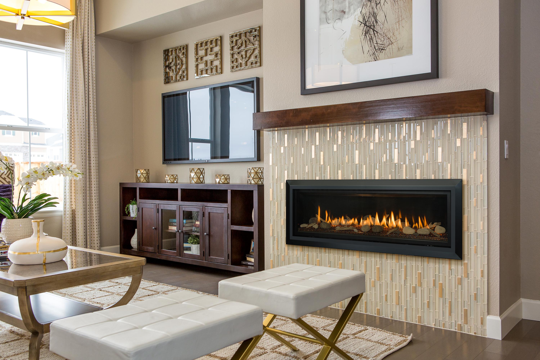 Slayton 60-Bevel-DriftRock-room Gas Fireplace
