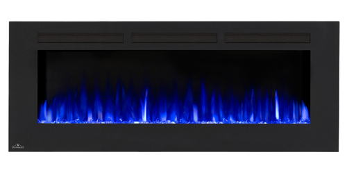 allure-60 electric blue napoleon-fireplaces