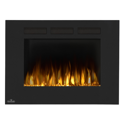 electric allure-straight-32-multi-napoleon-fireplaces orange