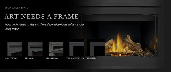 Napoleon Ascent Series Gas Fireplace Accessories