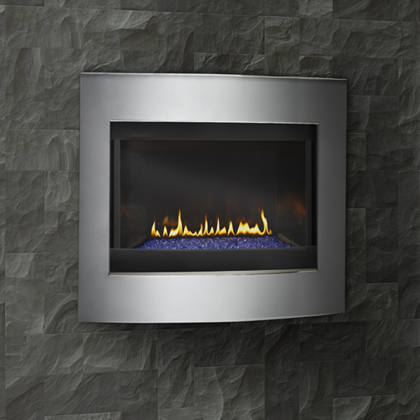 Crystallo Gas Fireplace