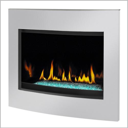 Crystallo Gas Fireplace