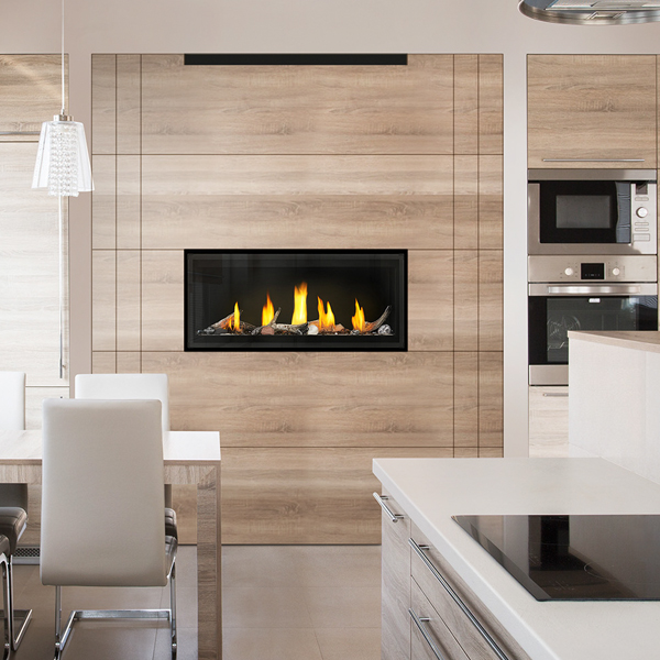 Luxuria Linear Gas Fireplace