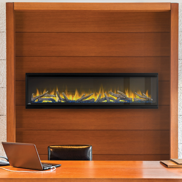 Alluravision electric fireplace