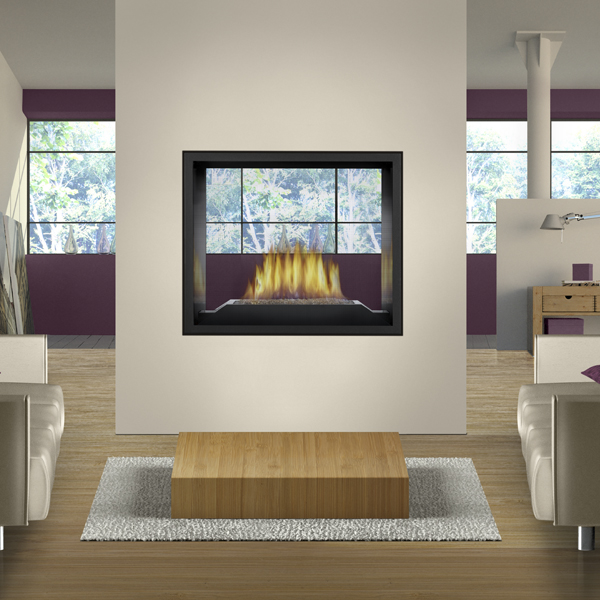 High Definition 81 gas fireplace