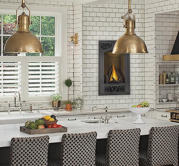 Vittoria 22 Napoleon Gas Fireplace