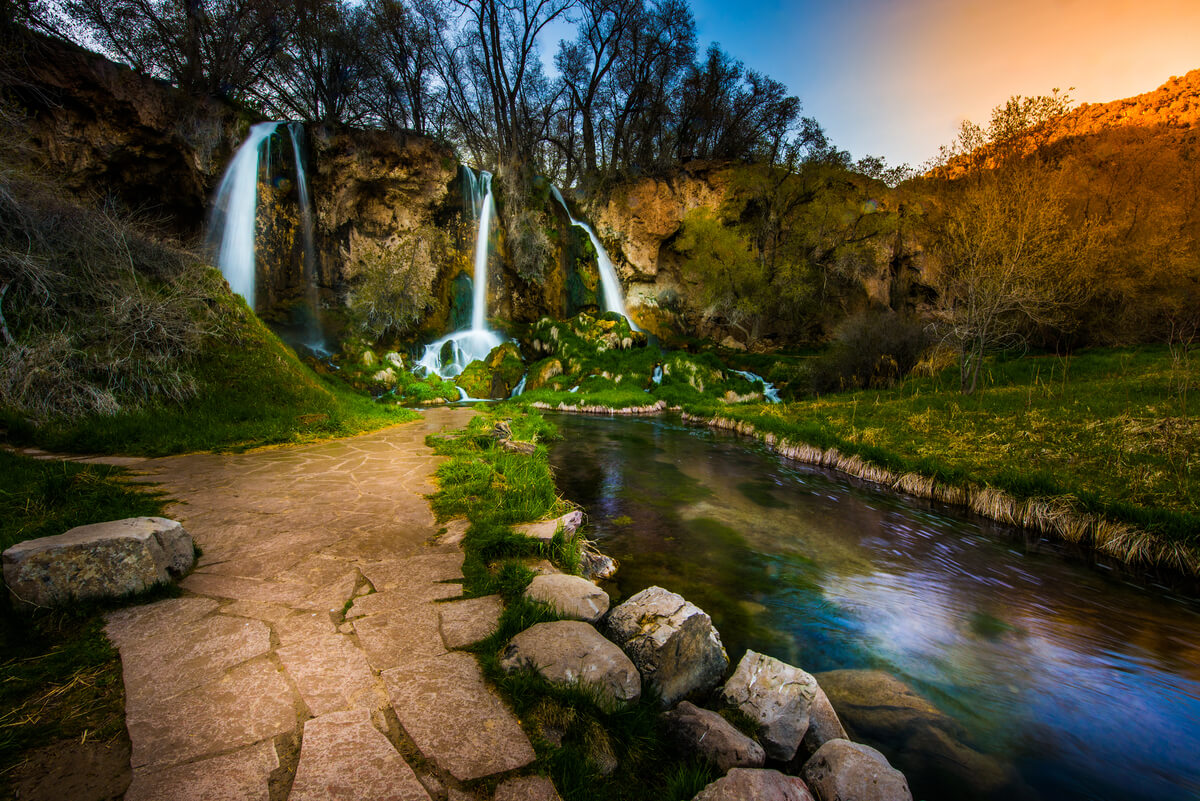 Ready for spring WILDFLOWERS and WATERFALLS?