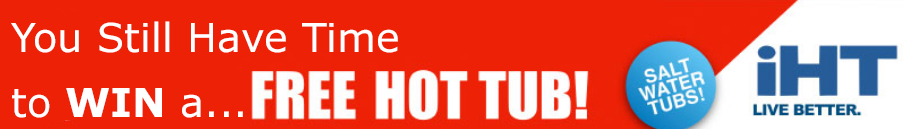 free hot tub still time