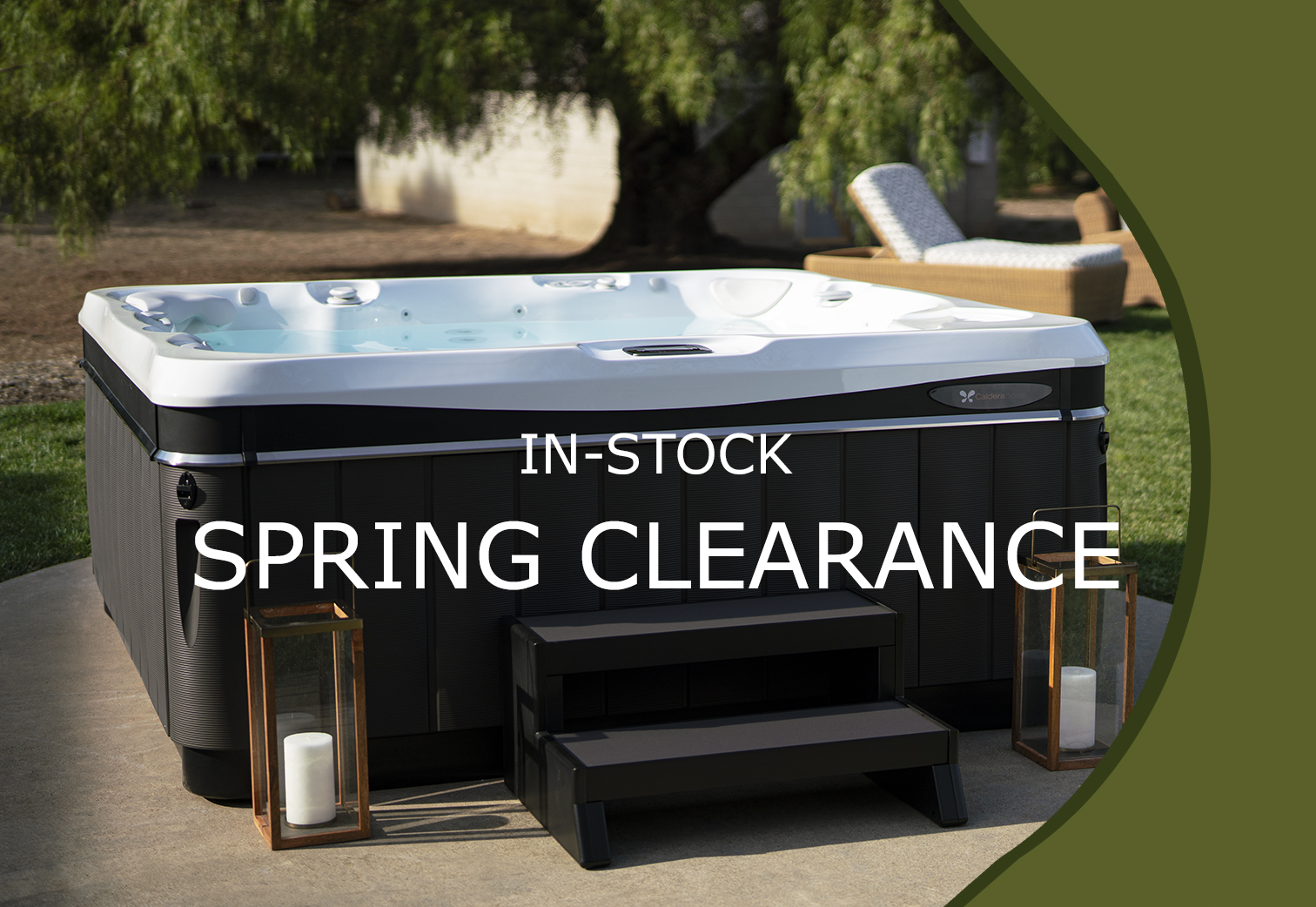 In-Stock Spring Hot Tub Clearance
