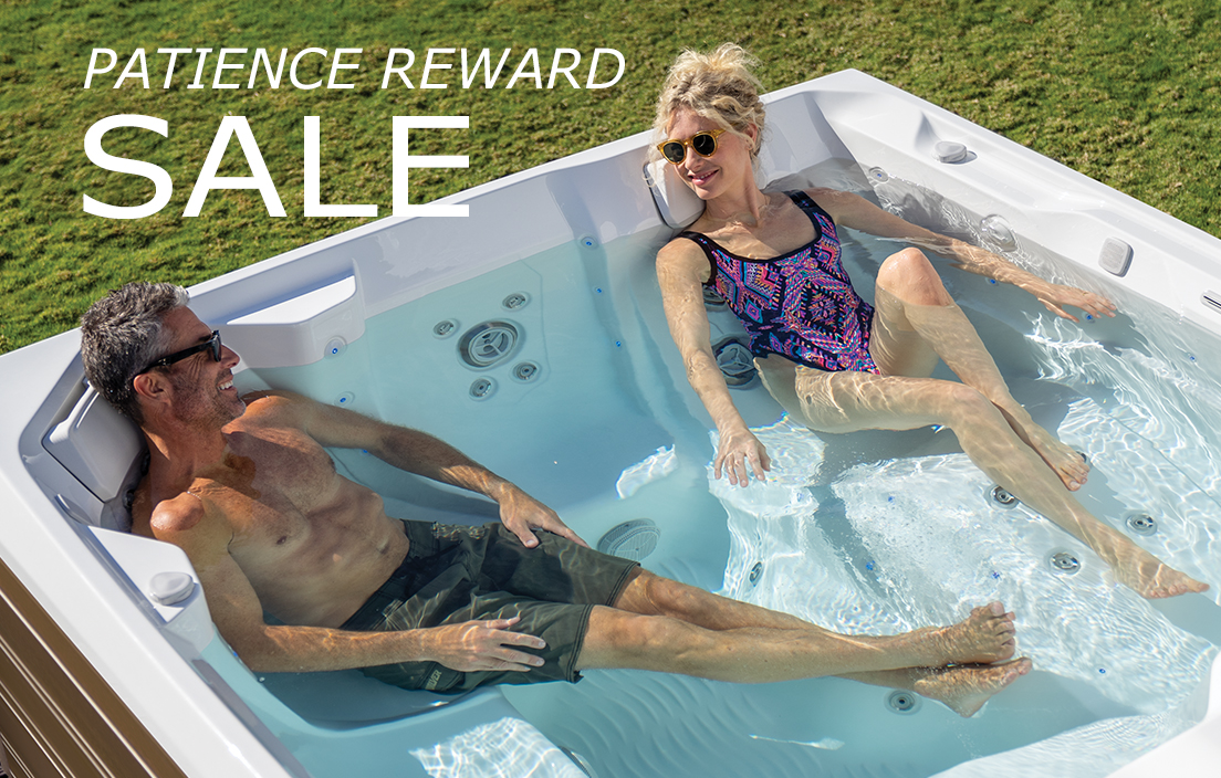 Patience Reward hot tub sale