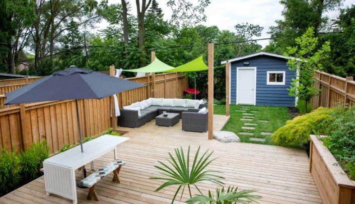 Backyard ideas from Houzz