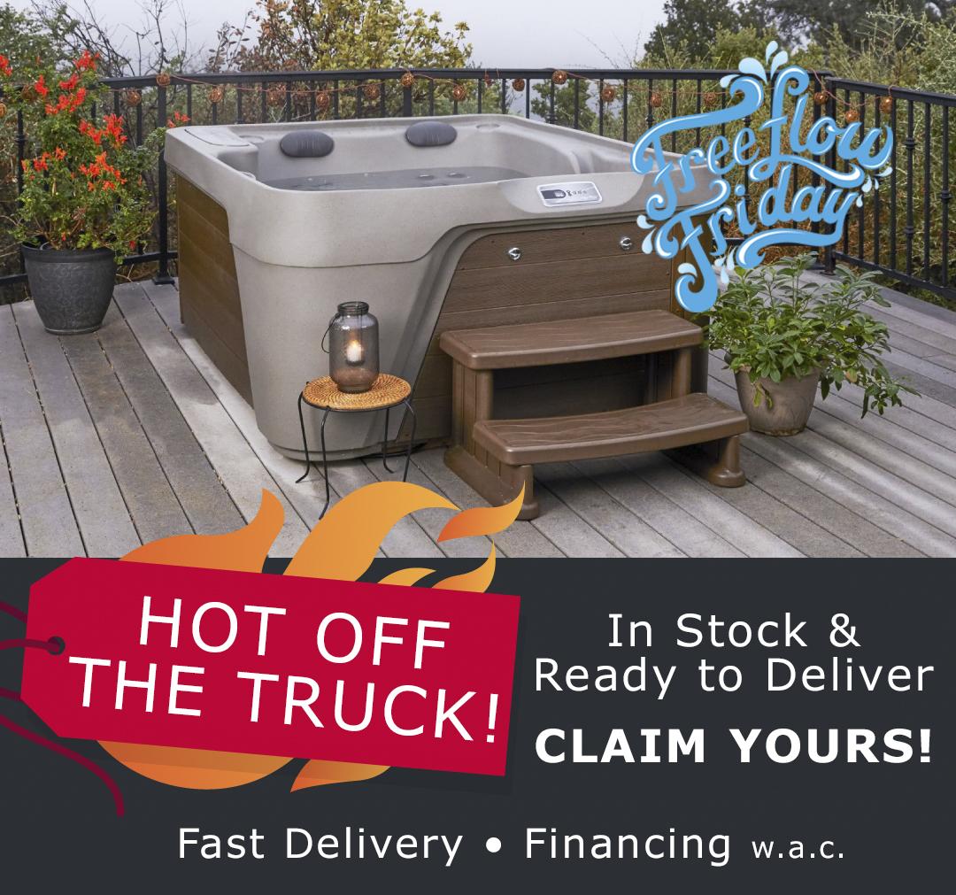 Freeflow Friday Hot Tub Sale