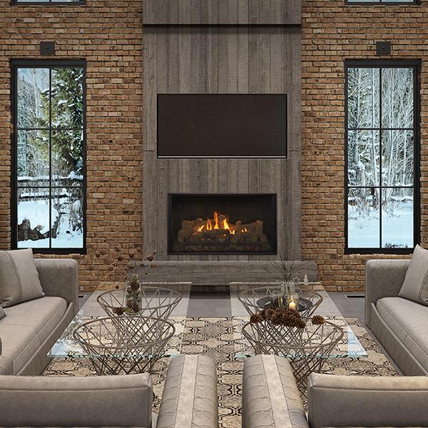 Kozy Heat Bellingham 52 Gas Fireplace