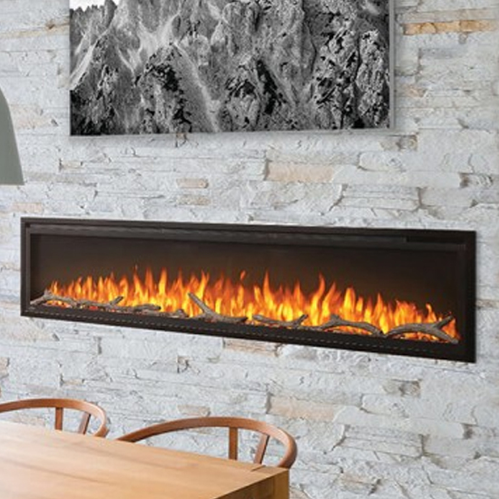 Entice 72 Electric Fireplace