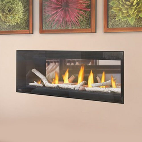 Luxuria 50 Napoleon Linear See Through Gas Fireplace