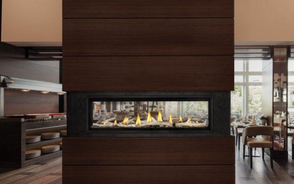 Luxuria 62 Napoleon Linear See Through Gas Fireplace