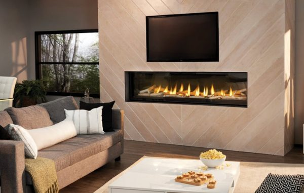 Luxuria 74 Napoleon Linear Gas Fireplace