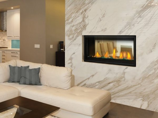Vector 38 Linear See Thru Napoleon Gas Fireplace