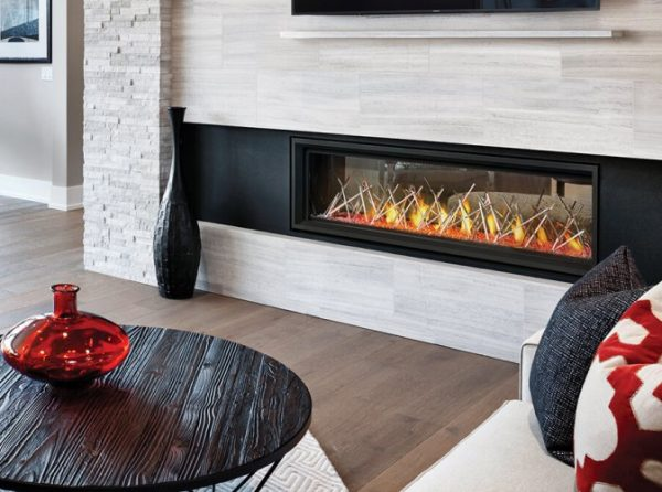 Vector 62 Linear See Thru Napoleon Gas Fireplace