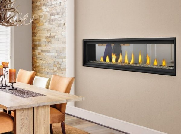 Vector 74 Linear See Thru Napoleon Gas Fireplace