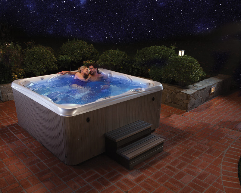 Stay In and Celebrate Valentine's Day With a Hot Tub Date!