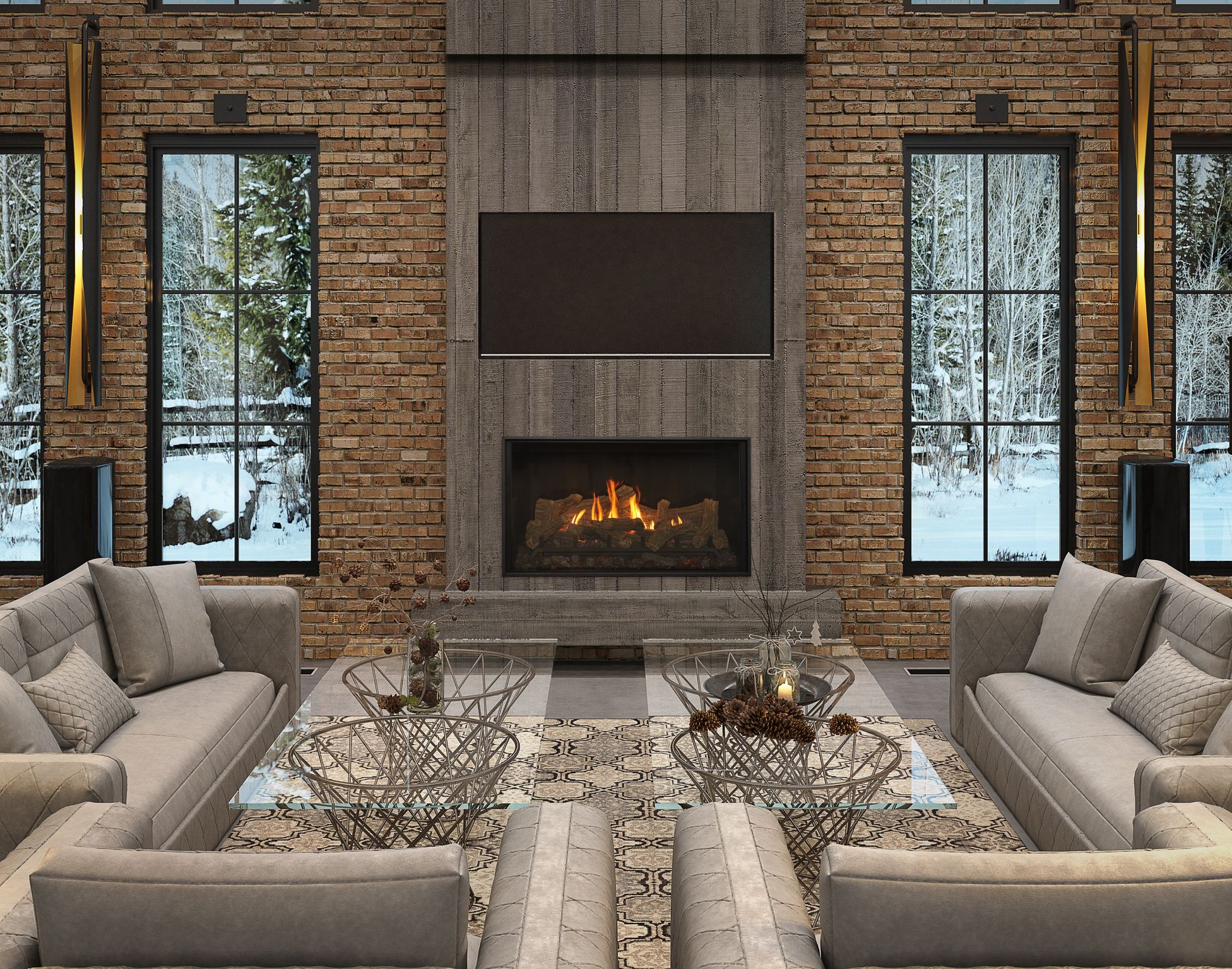 4 Ways Fireplaces Add Ambiance to Your Home (Without the Heat!)