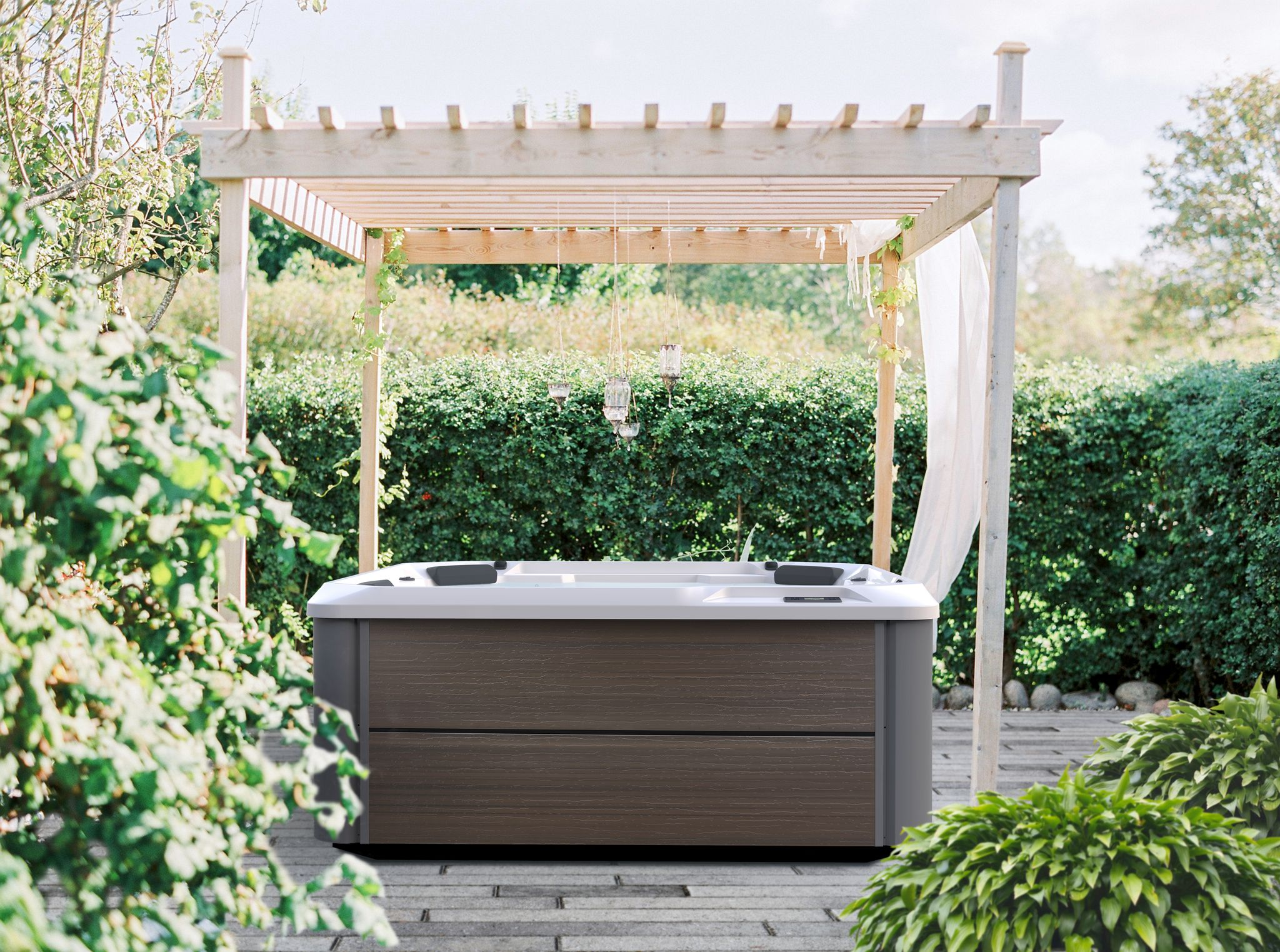 Creating Hot Tub Privacy