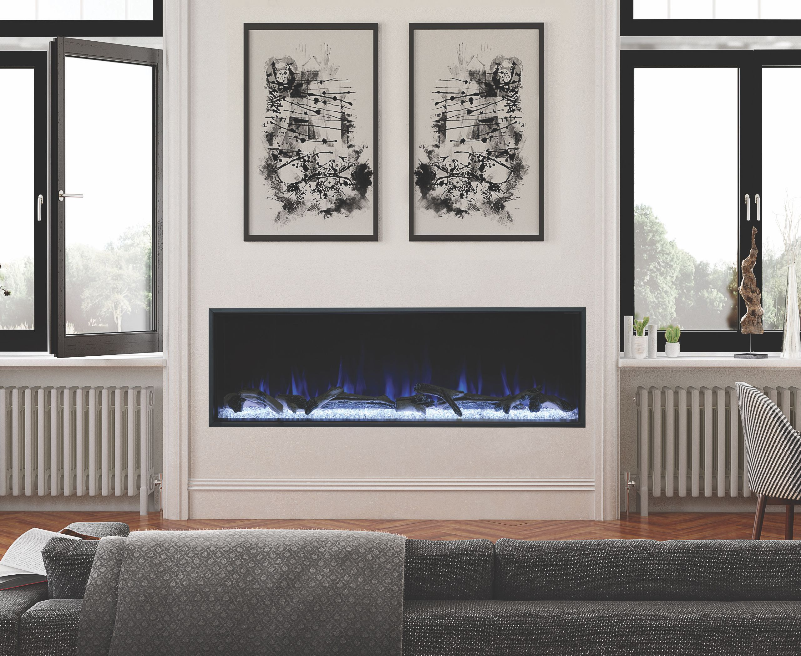 6 Fun Facts about Electric Fireplaces