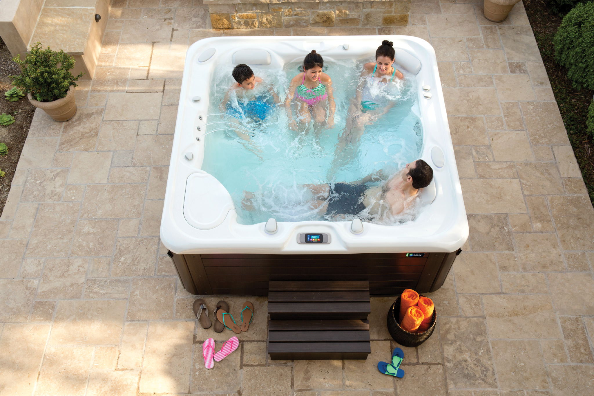 Four Hot Tub Brands that are Perfect for Families