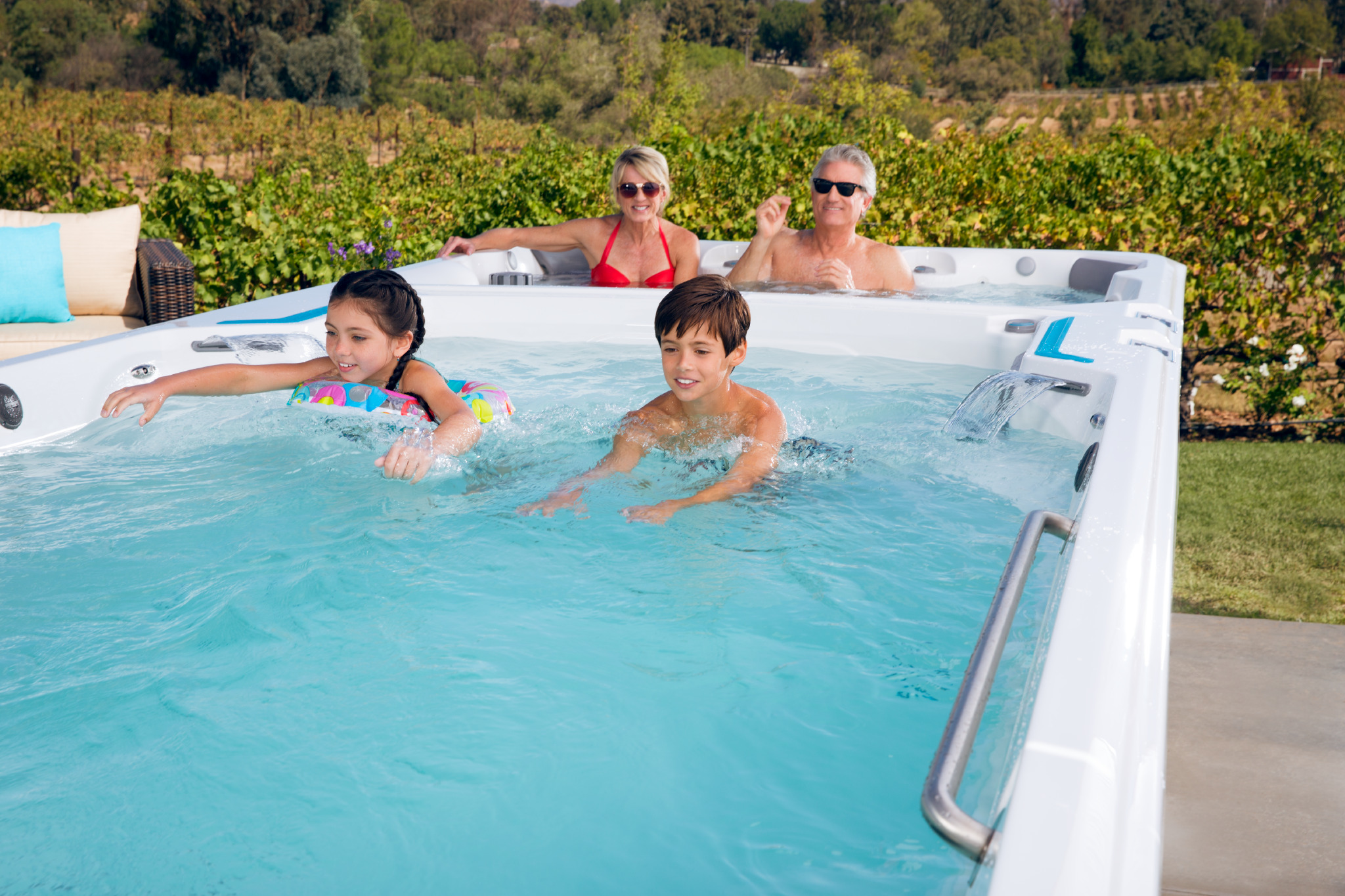 Endlessly Fun Games For Your Swim Spa
