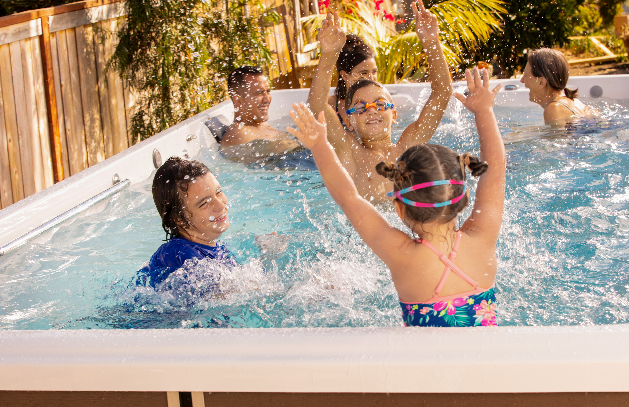 Less Screen Time, More Swim Spa Time This Summer