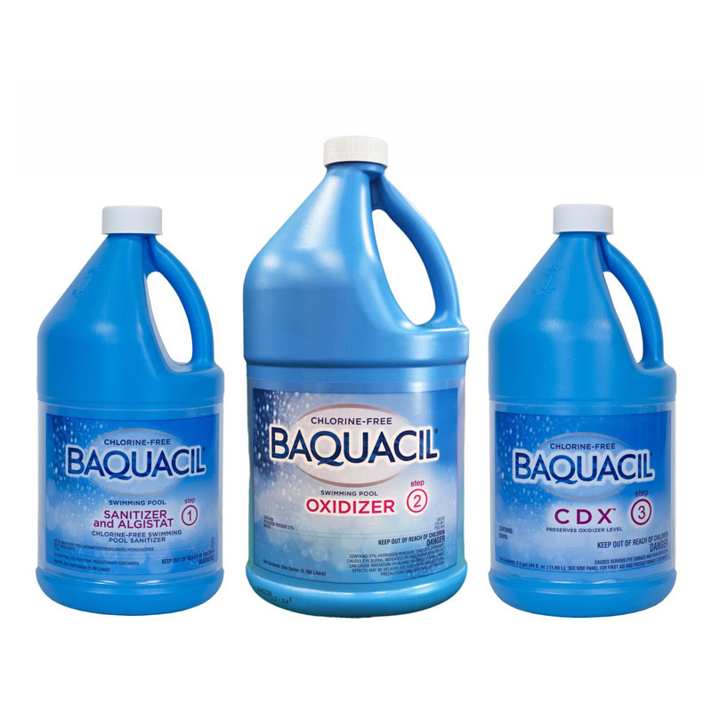 Baquacil Pool Chemicals Family Image