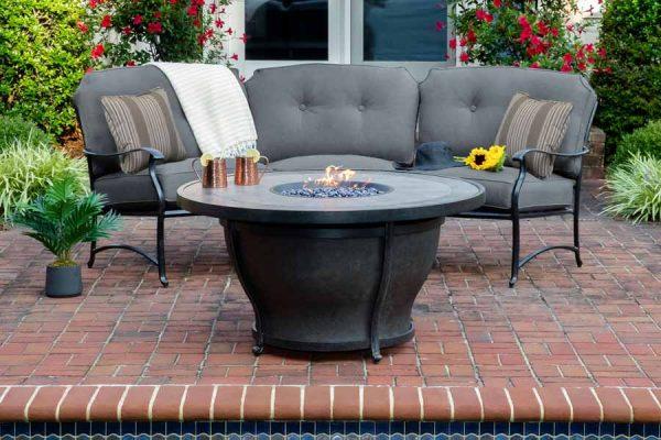 Agio Madison Curved Sofa Set