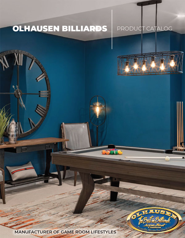 Olhausen Billiards Brochure
